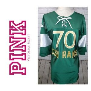 PINK Victoria's Secret Tops - Victoria's Secret Pink CSU Rams Jersey Size M